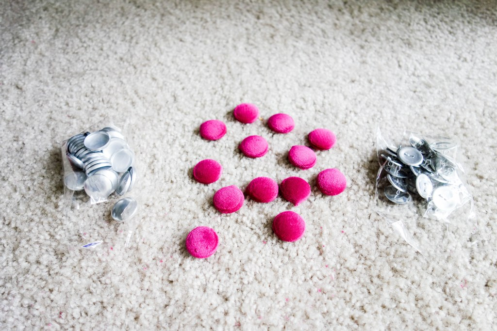 DIY Friday- Pink Tufted Velvet Chair | Breezing Through 9