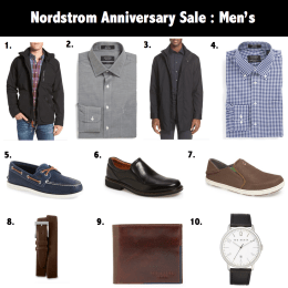 Nsale Series: What to Buy The Men (Last Day of Early Access)