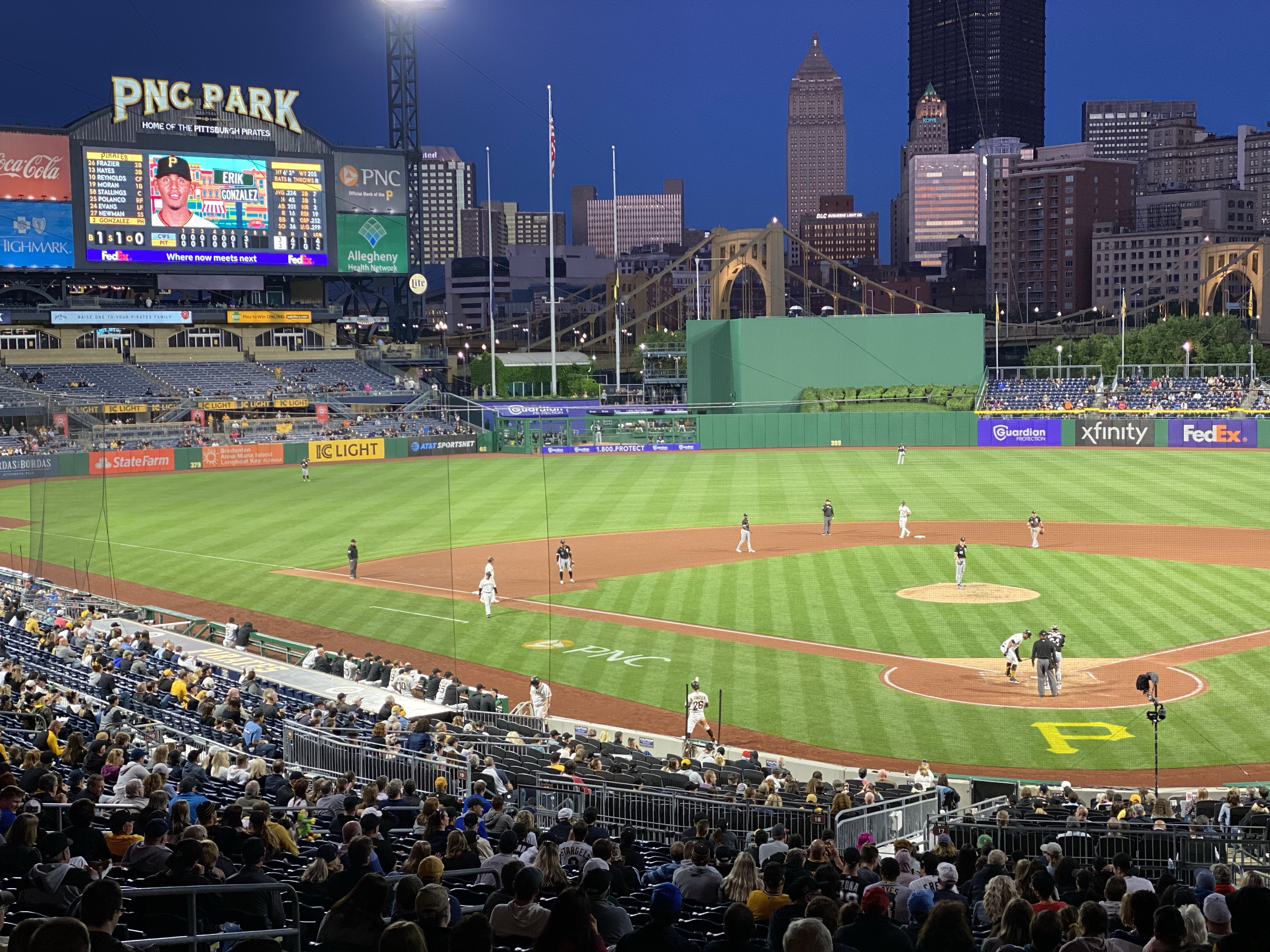 PNC Park from Section 117