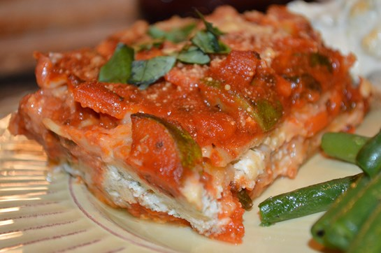 Whole Wheat Vegetarian Lasagna