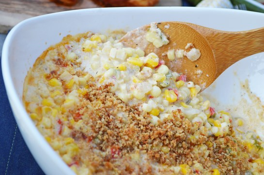 Pepper Jack Creamed Corn