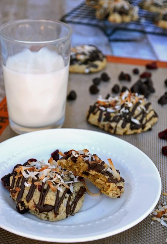 Chocolate Chunk Oatmeal Craisin Cookies