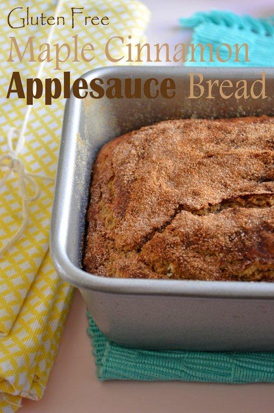 gluten-free-cinnamon-maple-applesauce-bread