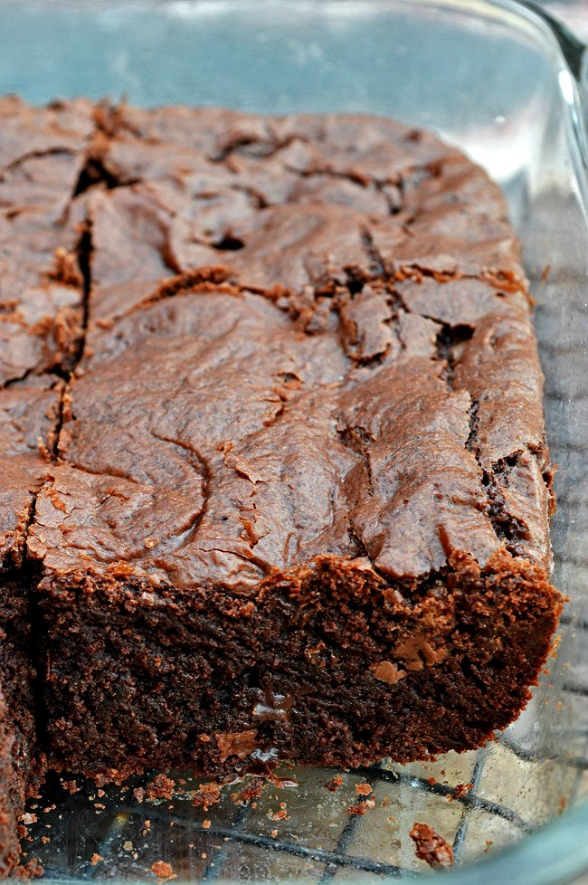how to make brownies from a box cake mix