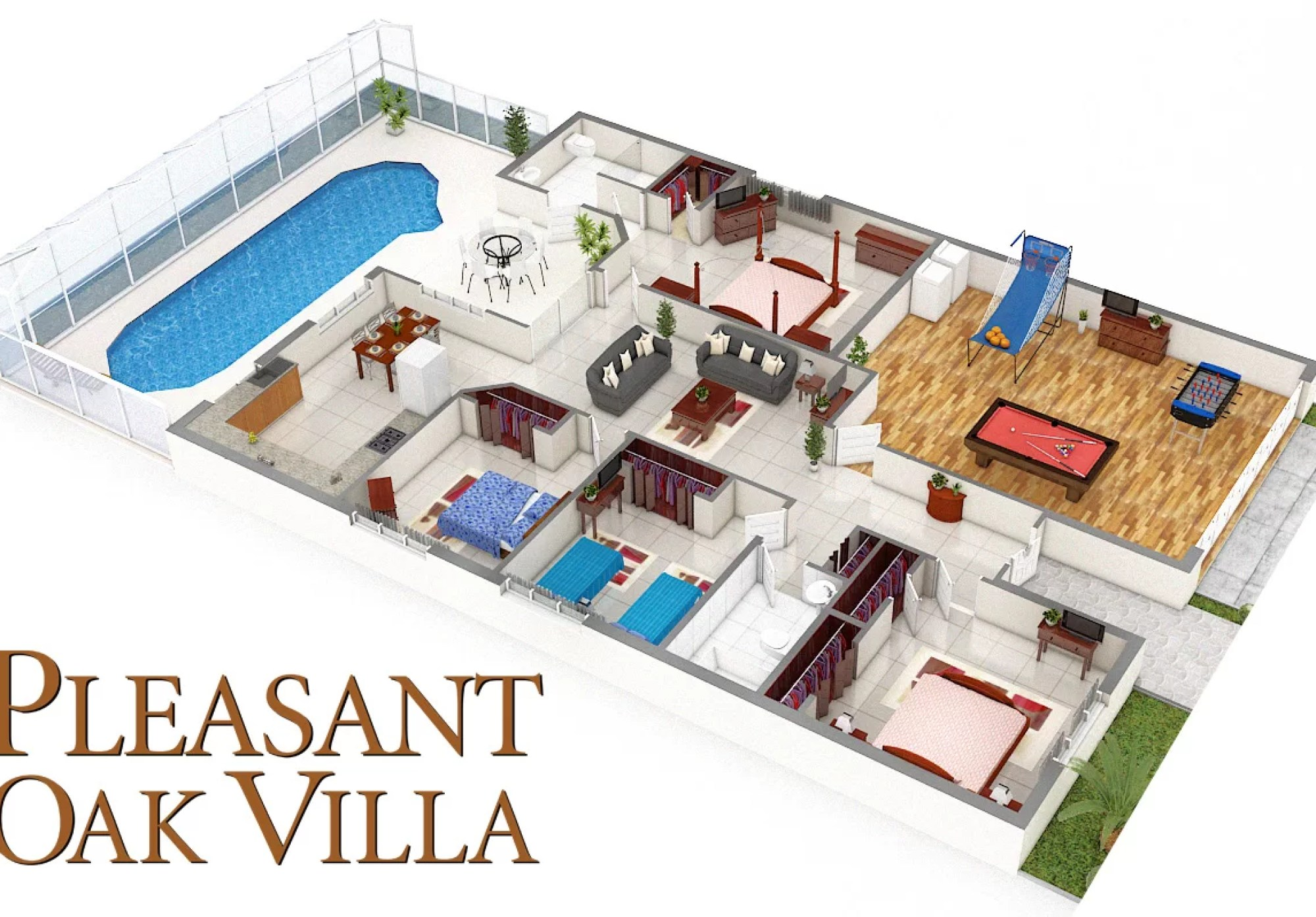 Pleasant Oak Villa