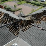 Fire compartmentation in roof voids