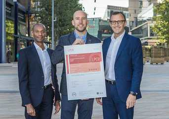 BRE awards SABRE security certification to International Quarter London.