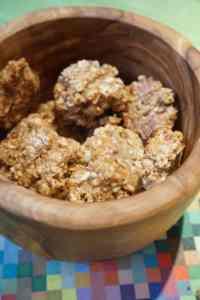 Apfelmus-Haferlocken – Kekse ohne Zucker