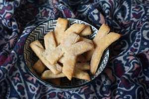 Zuckerfreie Kekse in K-Form