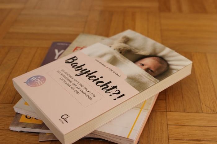 Babyleicht - ein Buch über das erste Jahr mit Baby von Instamamas und Mamabloggern