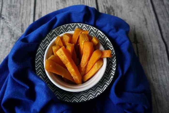 Süßkartoffelpommes - super für breifrei geeignet