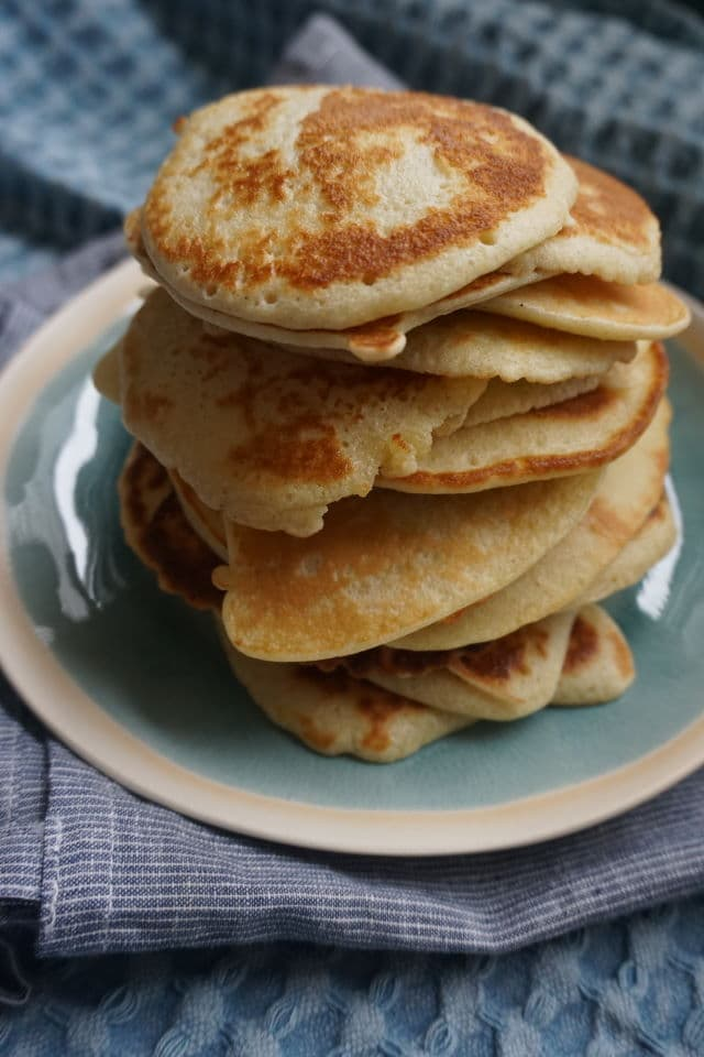 "Pfannkuchen ohne Zucker - BLW"" Rezept"