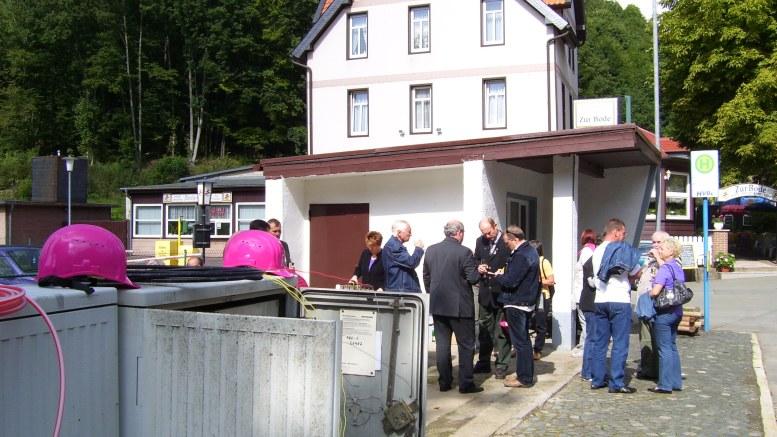 Inbetriebnahme in Wendefurth