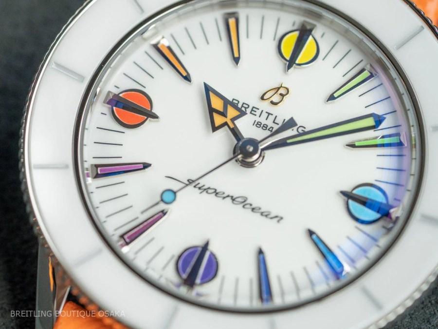 パステルカラーが魅力的な2021新作のダイバーズウォッチが入荷しました!-スーパーオーシャン ヘリテージ