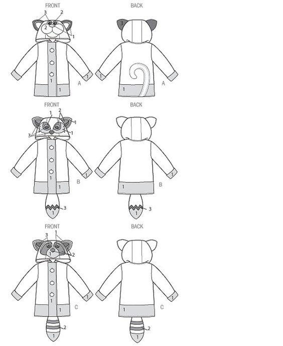 idée couture manteau enfant