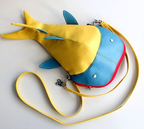 Tuto couture : coudre un sac poisson