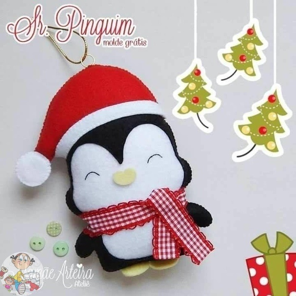 Coudre des Figurines pingouin