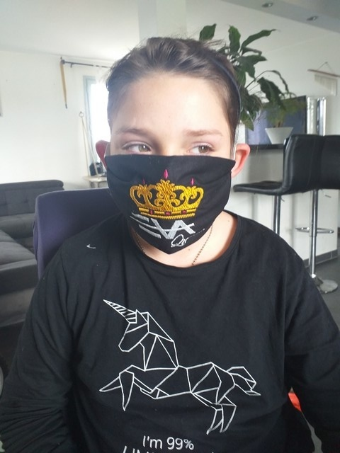 Masque Eva Queen