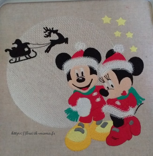 Concours Broderie Noël 2020