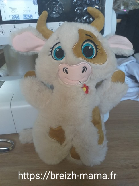 Doudou vache ITH