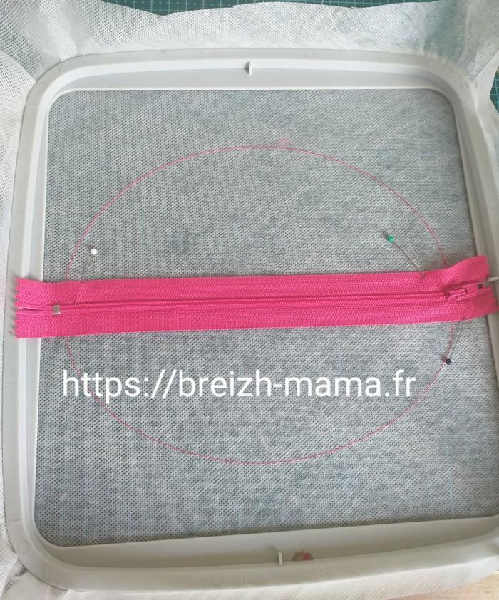 2 - Placer le zip
