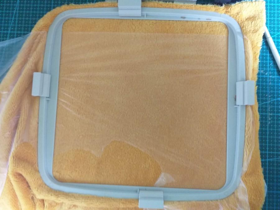 Cercler stabilisateur et tissu