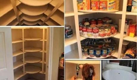 Optimiser les coins d'étagère