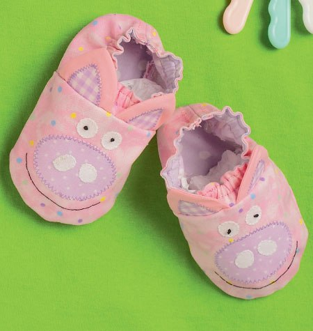 inspiration chaussons bébé