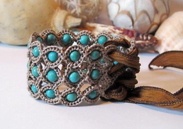 Bracelet au crochet