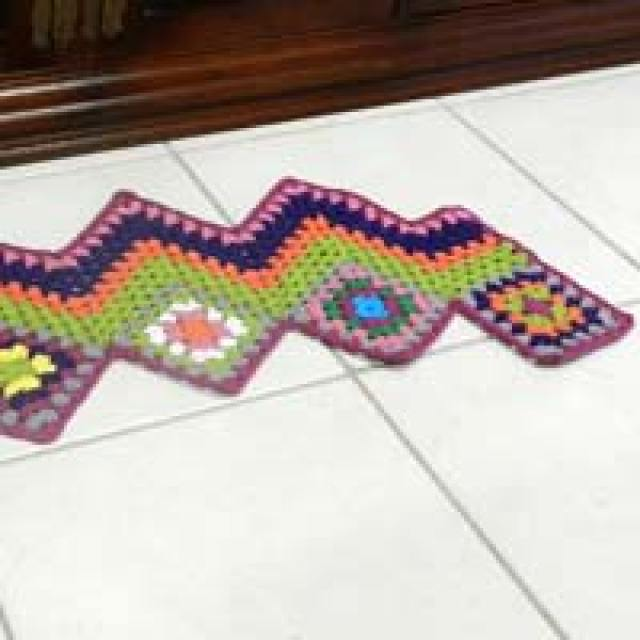 chevron au crochet