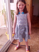 Mes projets Couture - Robe col claudine