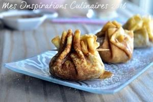 aumoniere de crepe aux pommes caramel beurre sale