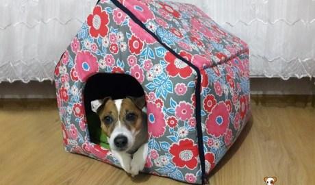 Niche pour chien en tissu