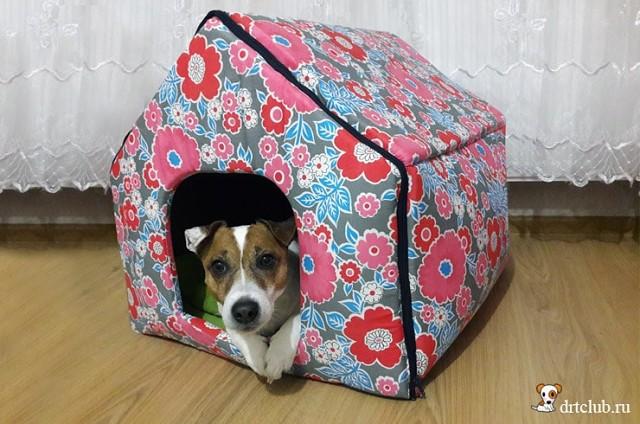 niche pour chien en tisssu