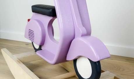 DIY scooter en bois