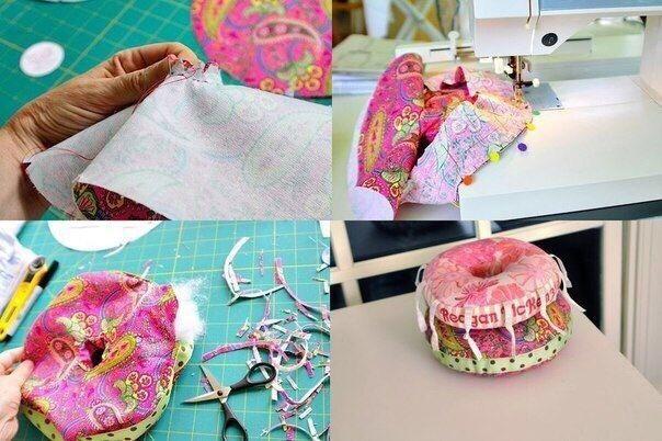 Couture des anneaux en tissu pour bébé