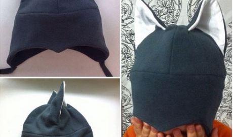 patron bonnet à oreille