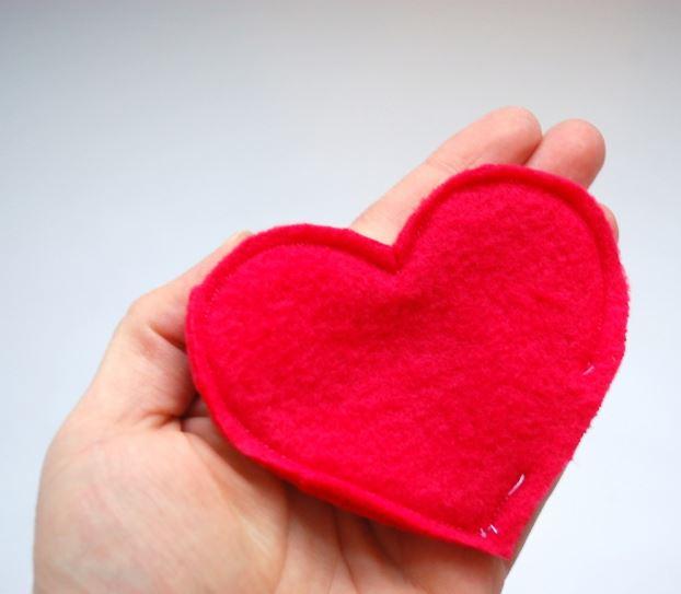 coudre un coeur