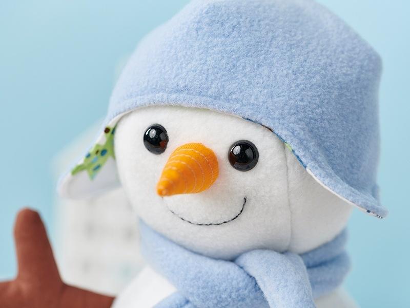 coudre un bonhomme de neige