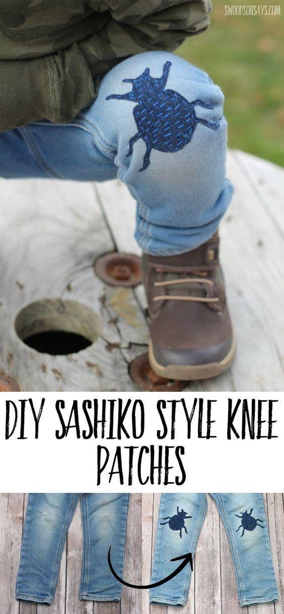 Customiser vos réparation de genou de pantalon