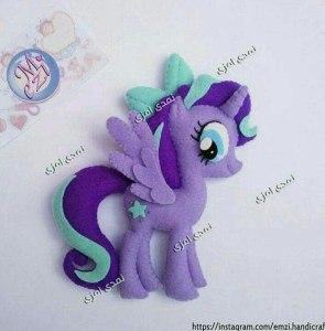 mon petit poney violet