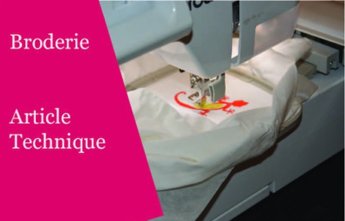 Technique broderie