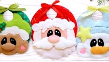 Bavoir de Noël