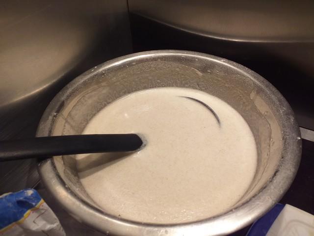 Préparer la pâte à galette