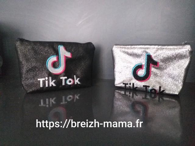 Couture trousse brodée TikTok
