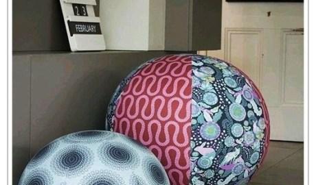 Coudre un ballon en tissu