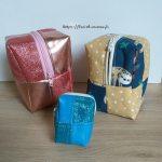 Trio de trousses paquet cadeau
