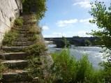 la Loire de l'autre côté du pont