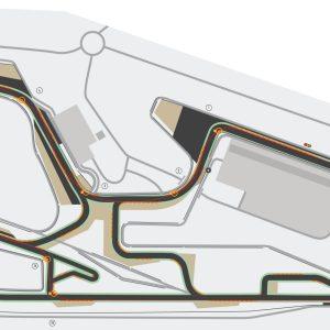 Plan circuit Aragon