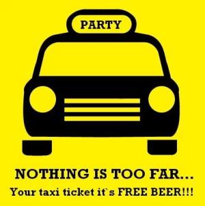 taxi beer eventos